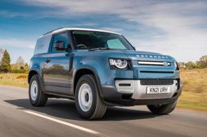Land Rover Defender Hard Top Commercial 2021 года, Великобритания